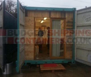 Shipping Containers with Electrics