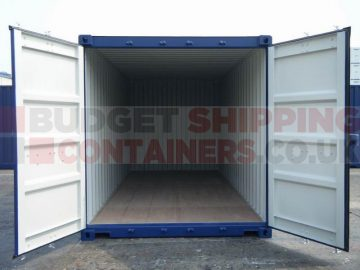What can you expect from a one trip shipping container?
