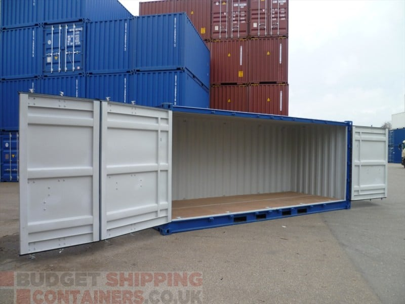 20ft Side Opening Shipping Containers New One Trip