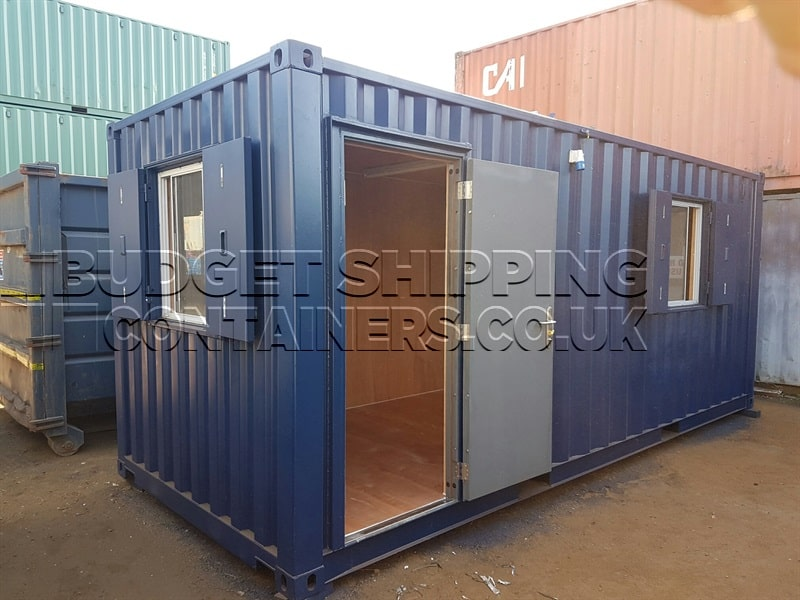 20ft shipping container office nearly new. Black Bedroom Furniture Sets. Home Design Ideas