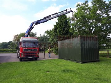 How is a Shipping Container Delivered? *VIDEO*