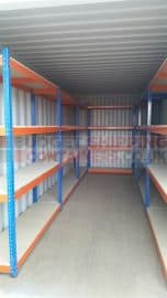 New Shipping Container Shelving Kits