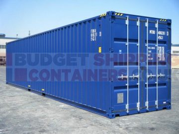 40ft high cube new shipping container for sale