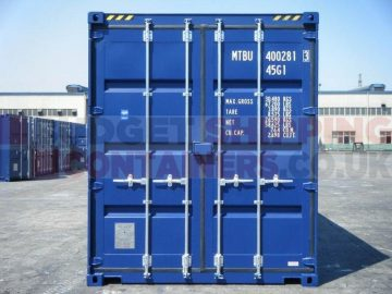 What is a 'one trip' Shipping Container?