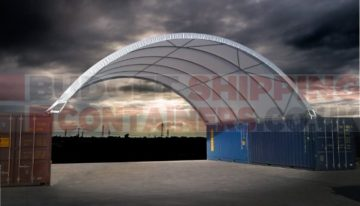 Shipping Container Canopies: New Range for 2018