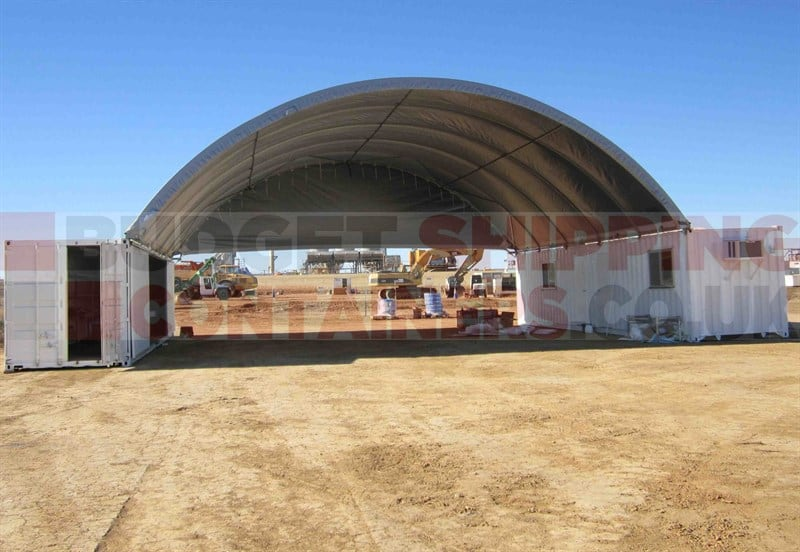 40ft 12m Container Canopy 17m Wide