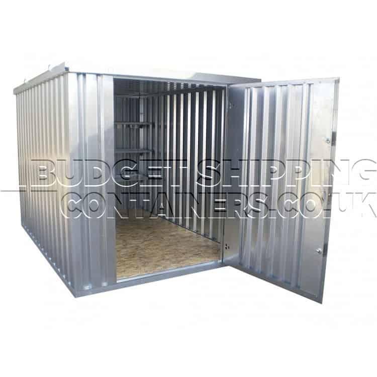 flat pack storage container 4x2 metre. Black Bedroom Furniture Sets. Home Design Ideas
