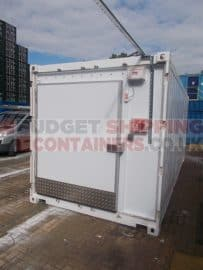 Refrigerated Shipping Containers for the Scottish Islands