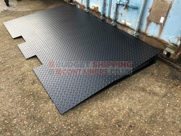 Shipping Container Forklift Ramp