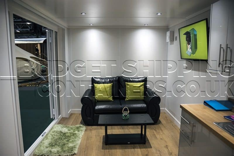 20ft Office Exhibition Conversion Liverpool