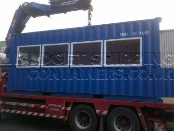 Shipping Containers for Construction Sites
