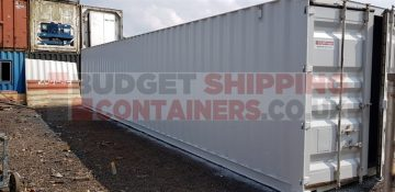White Shipping Containers