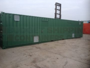Shipping Container Boiler Houses