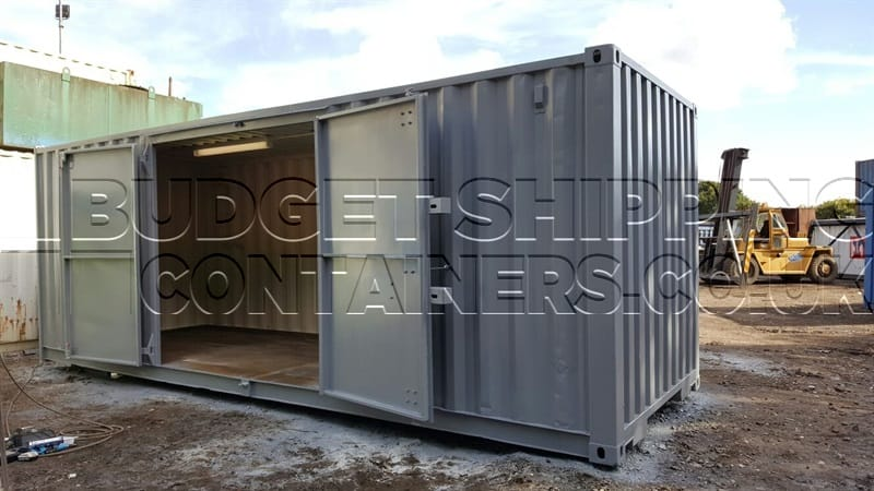 20ft Side Door Shipping Container Refurbished
