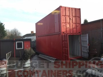 Shipping Containers for the Haulage Industry
