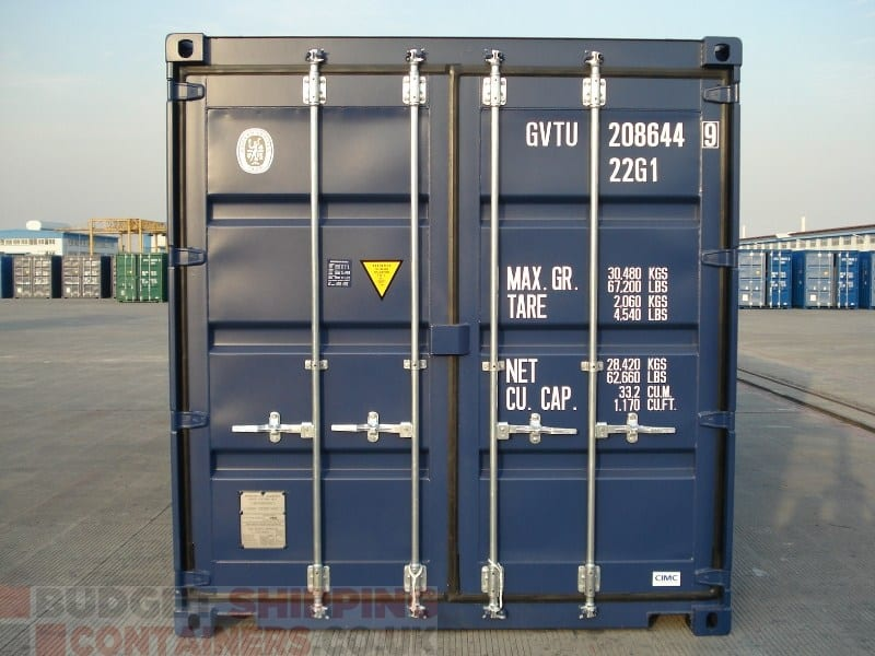 20ft Shipping Containers High Spec New One Trip