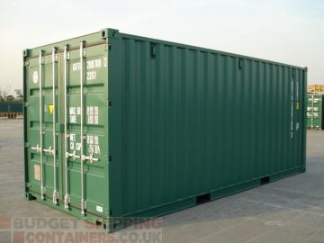 Green Shipping Containers