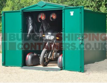 Secure Motorcycle Sheds 1