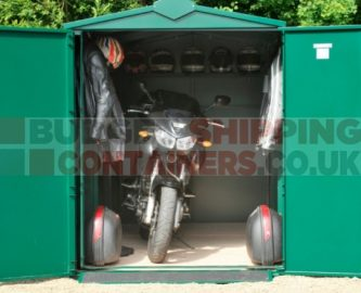 Secure Motorcycle Storage Sheds | Secure Garages for Motorbikes