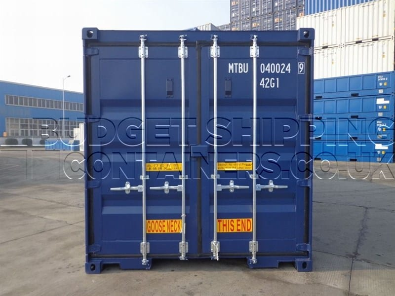 40ft Tunnel Containers New Double Doors Each End