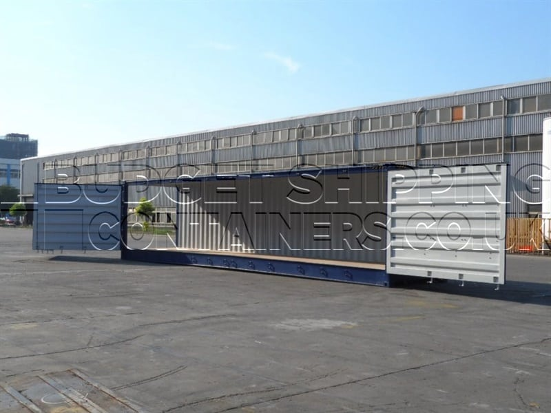 40ft High Cube Side Opening Shipping Containers New One