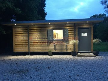 Cladded Shipping Container Cabin