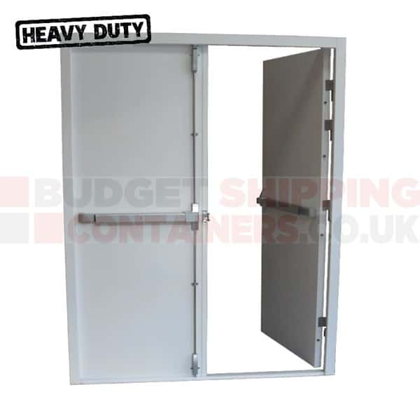 Heavy Duty Shipping Container Double Leaf Fire Exit Doors