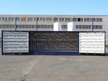 Side Opening Shipping Containers