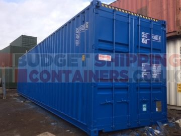 Painting export shipping containers