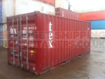 Buying a shipping container for export use