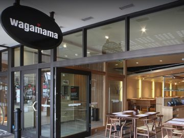 Wagamama Shipping Container