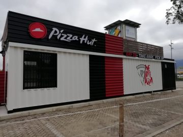 1001 Uses for a Shipping Container #174: A Pizza Hut!