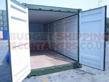 Open cargo doors