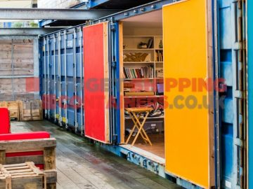 Ty Cwch Shipping Container Glamping