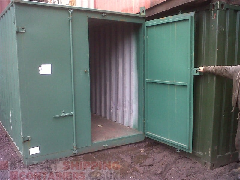 10ft Shipping Containers Refurbished