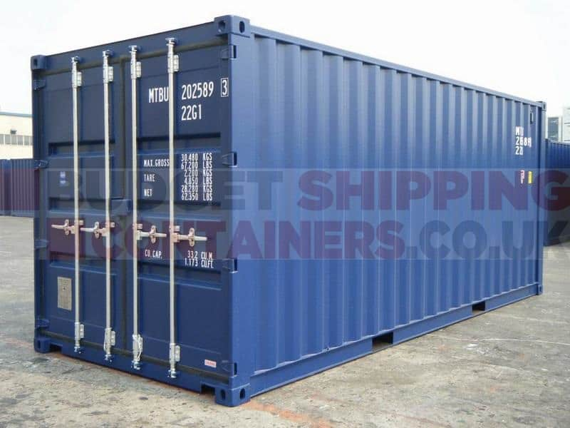 20ft shipping containers new one trip. Black Bedroom Furniture Sets. Home Design Ideas