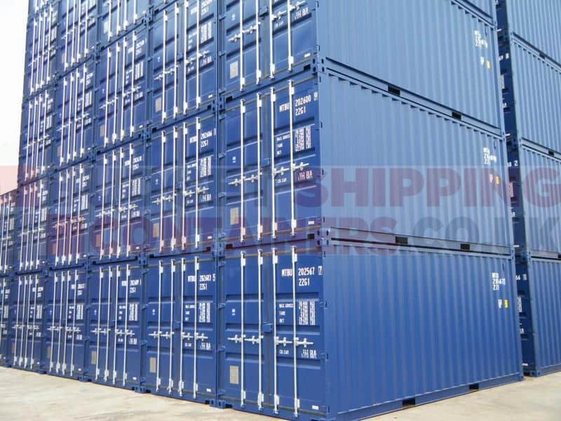 20ft Shipping Containers One Trip New
