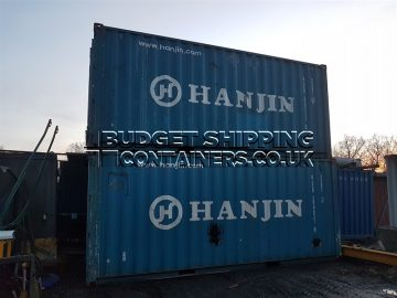 hanjin shipping containers for sale