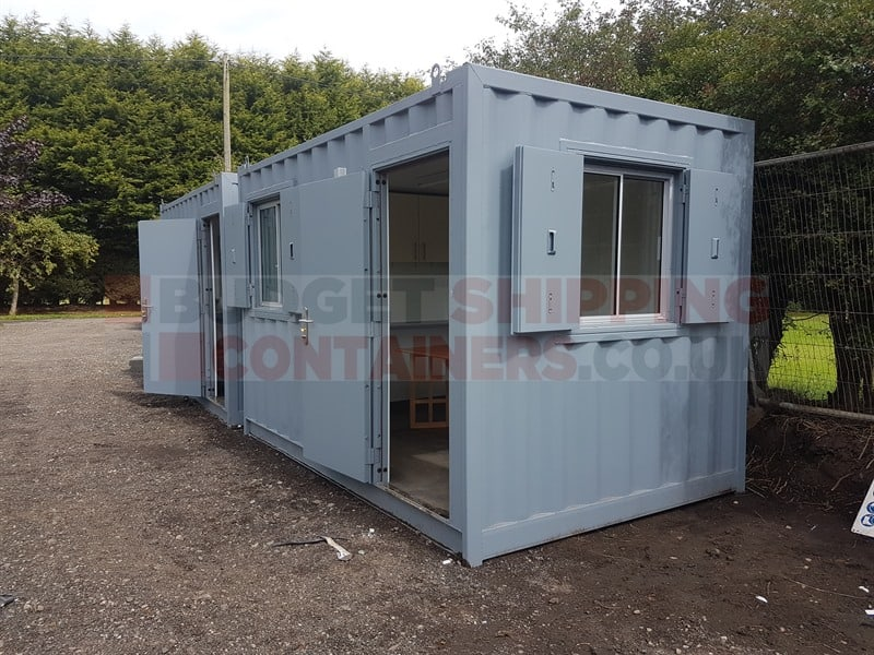 Agricultural Storage and Secure Shipping Container Farm Storage