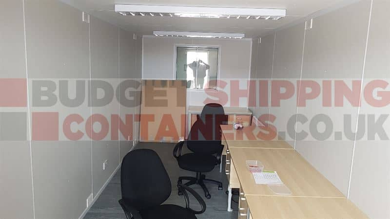 23ft x 8ft Office Containers (Southampton)