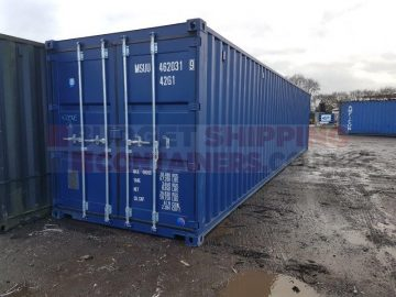 Can you insure the contents of a Shipping Container?
