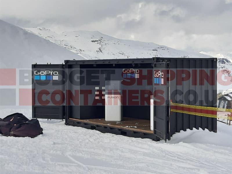 Go Pro Shipping Container
