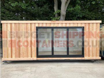 20ft Garden Room/Cabin Container