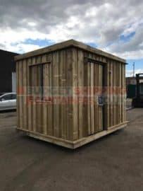 Cladded Storage Unit