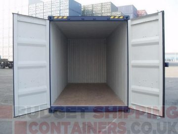 Loading a shipping container for export