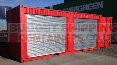 Shipping Container Roller Shutters