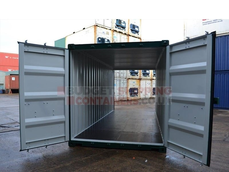20ft tunnel containers new double doors each end - Shipping container end welding ...