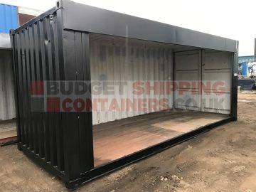20ft Full Side Access Roller Shutter Shipping Container