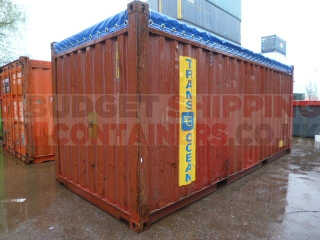 20ft open top shipping containers used. Black Bedroom Furniture Sets. Home Design Ideas