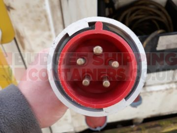 3 phase refrigerated shipping container plug